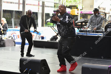Naughty By Nature - Treach, Vin Rock and DJ Kay Gee