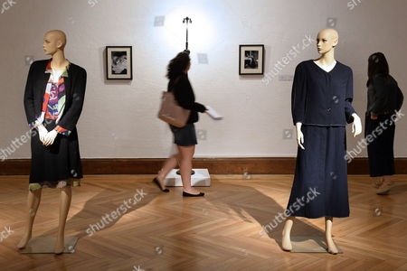 Two women visit the exhibition 'Coco Chanel and Art. Beyond Art' at the Pasion Museum in Valladolid, Spain, 07 June 2017. The exhibition will be open to public from 07 June to 27 August 2017.