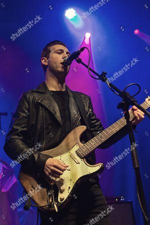 Editorial image of Laurence Jones in concert at The Ritz, Manchester, UK - 06 Jun 2017