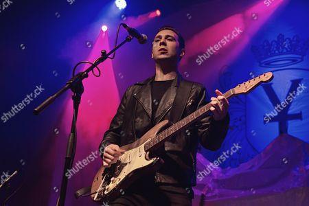 Editorial photo of Laurence Jones in concert at The Ritz, Manchester, UK - 06 Jun 2017
