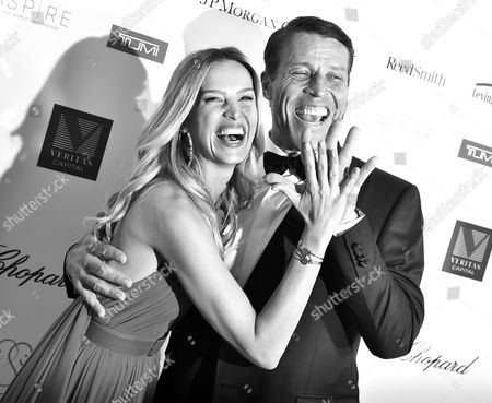 Petra Nemcova and Tony Robbins