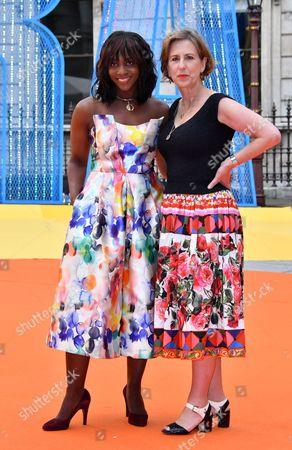 Brenda Emmanus and Kirsty Wark