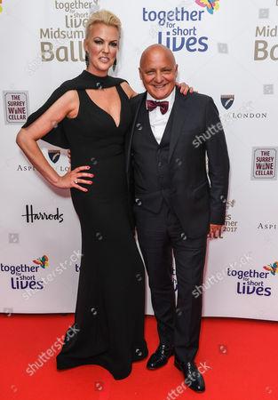 Stock Photo of Nikki Welch and Aldo Zilli