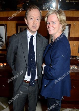 Geordie Greig and Ruth Kennedy