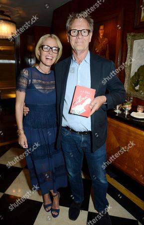 Gillian Anderson and Robert Fox