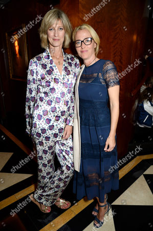Stock Picture of Nicola Formby and Gillian Anderson