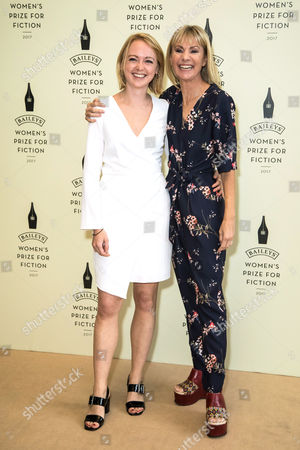 Kate Mosse and her daughter