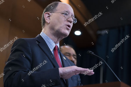 US Democratic Representative from California Brad Sherman delivers remarks during a press conference on the impeachment articles for President Trump he is authoring in the US Capitol in Washington, DC, USA, 07 June 2017. The two are independently authoring separate articles of impeachment for President Trump.