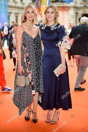 Joanna Vanderham and Laura Carmichael