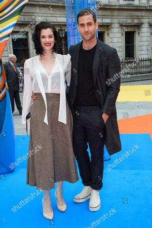 Jessica De Gouw and Oliver Jackson-Cohen