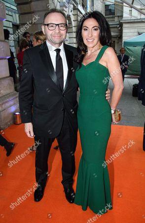Stock Image of Jonathan Shalit with his wife Katrina Sedley