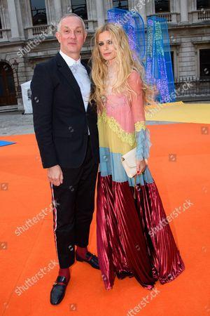 Josh Wood and Laura Bailey