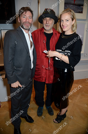 Mat Collishaw, Ron Arad and Polly Morgan