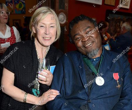 Eileen Cooper and Yinka Shonibare