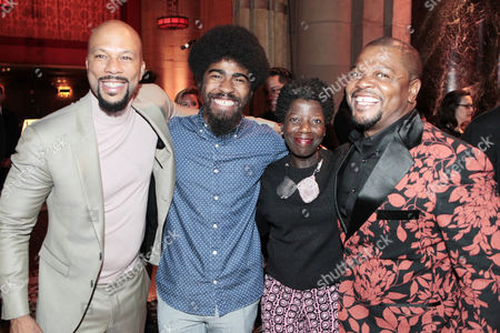 Common, Devin Allen, Thelma Golden and Kehinde Wiley
