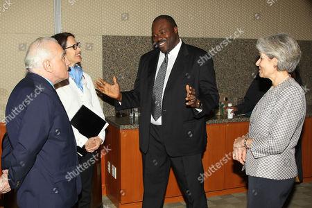 Martin Scorsese, Margaret Bodde, Aboubakar Sanogo and Irina Bokova