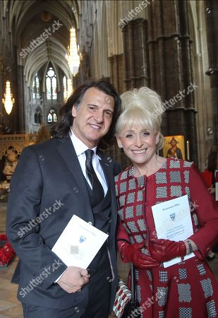Stock Picture of Scott Mitchell and Dame Barbara Windsor