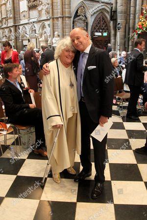 Anne Hart and Simon Parker Bowles