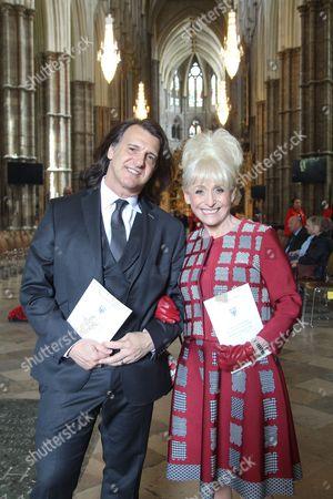 Stock Image of Scott Mitchell and Dame Barbara Windsor