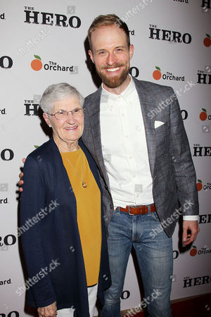 Adam David Thompson with His Grandmother