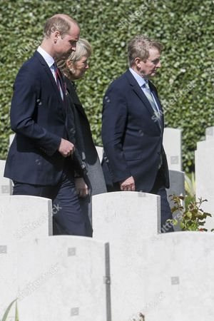 Prince William, Princess Astrid and Enda Kenny