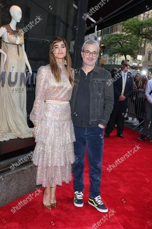 Sofia Boutella and Alex Kurtzman (Director)