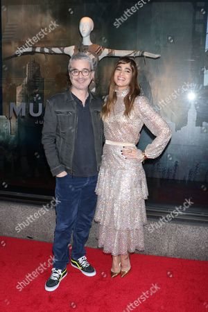 Alex Kurtzman (Director) and Sofia Boutella