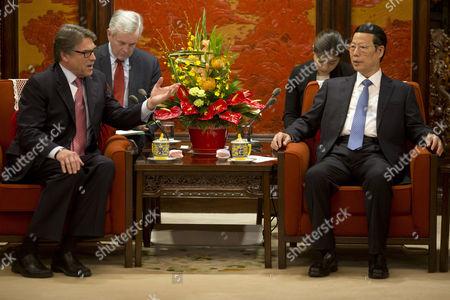 Rick Perry and Zhang Gaoli