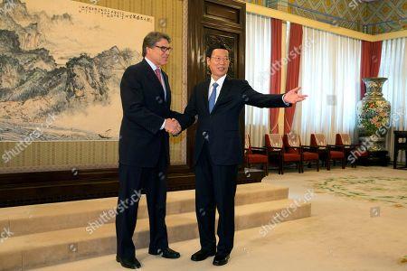 Editorial photo of US, Beijing, China - 08 Jun 2017