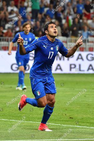 Martins Eder of Italy