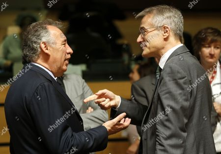 Francois Bayrou and Felix Braz
