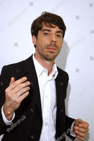 Editorial photo of Adrien Bosc, Paris, France - 02 Oct 2014