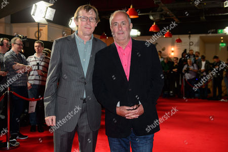 Producer, Kevin Loader and director Roger Michell