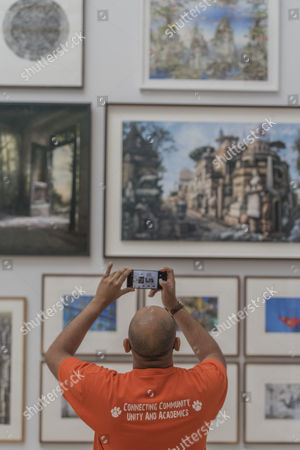 Editorial picture of The Royal Academy's Summer Exhibition, London, UK - 08 Jun 2017