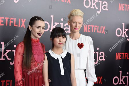 Lily Collins, Seo-Hyeon Ahn, Tilda Swinton