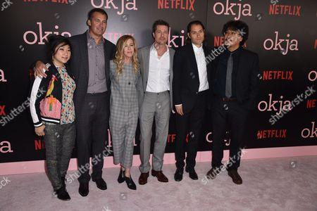 Christian Oh, David Zinczenko, Dede Gardner, Brad Pitt, Jeremy Kleiner, Joon-ho Bong
