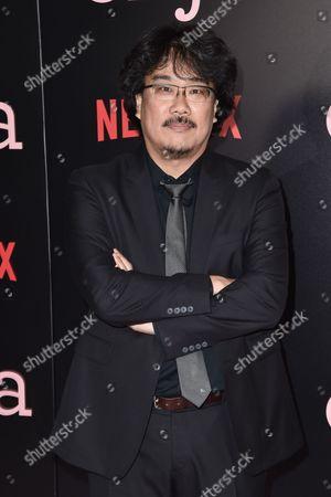 Stock Photo of Joon-ho Bong