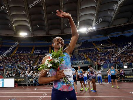 Editorial image of Athletics Golden Gala, Rome, Italy - 08 Jun 2017