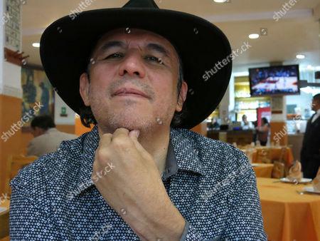 Editorial picture of Literature Fadanelli, Mexico City, Mexico - 02 Feb 2017