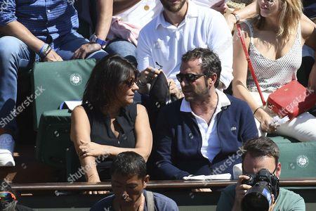 Stock Image of Valerie Expert and Bernard Montiel