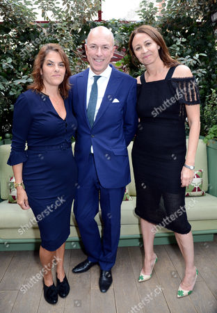 Tracey Emin, Dylan Jones and Caroline Rush