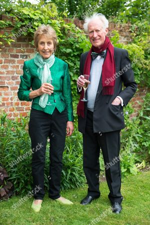Christina and Bamber Gascoigne