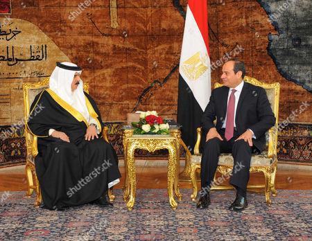 Editorial picture of King of Bahrain Hamad bin Issa al-Khalifa visit to Egypt - 08 Jun 2017