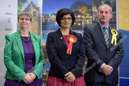 THANGAM DEBBONAIRE is returned in Bristol West for Labour at City of Bristol Academy with what may be the largest majority in the UK of 37, 366, beating challengers Molly Scott Cato for the Greens and STEPHEN WILLIAMS for the Lib Dems