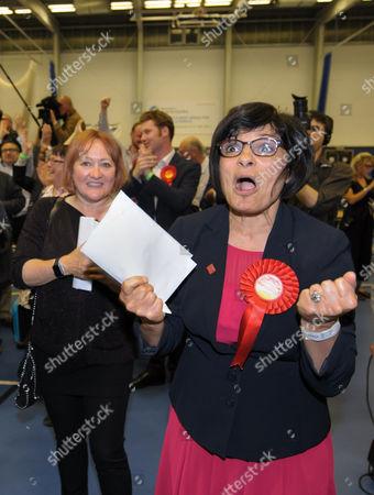 Editorial image of UK General Election, polling day, results, Bristol, UK - 08 Jun 2017