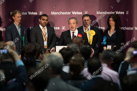 Editorial photo of UK General Election, polling day, results, Manchester, UK - 08 Jun 2017