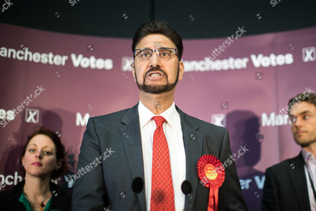 Afzal Khan wins Manchester Gorton, beating George Galloway, who did not turn up for the declaration, at the Manchester Central Convention Centre where the count for the constituencies of Blackley and Broughton, Manchester Central, Manchester Gorton, Manchester Withington and Wythenshawe and Sale East, in the General Election, is taking place.