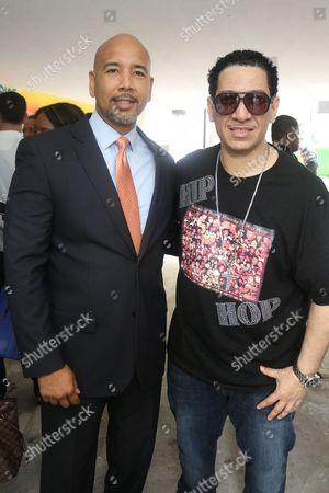 Ruben Diaz Jr. and David Anthony