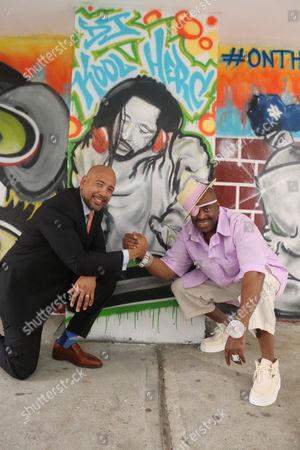 Ruben Diaz Jr. and Slick Rick