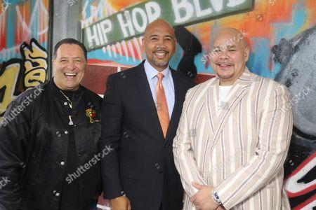 Stock Picture of Sal Abbatiello, Ruben Diaz Jr and Fat Joe